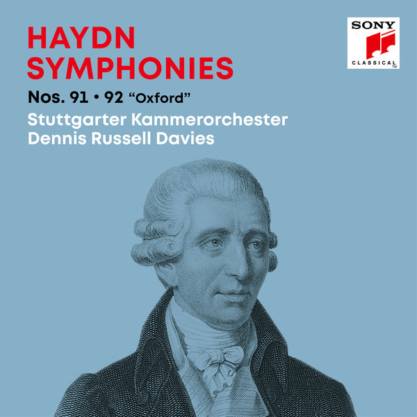 "Dennis Russell Davies - Haydn: Symphonies / Sinfonien Nos. 91, 92 ""Oxford"""