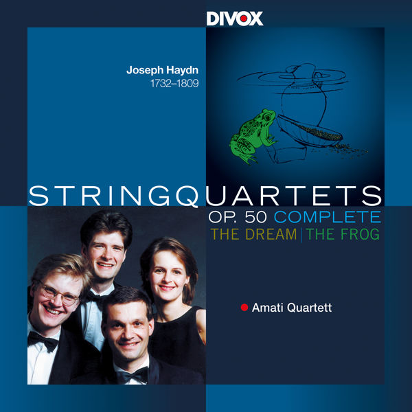 Amati Quartet - Haydn: String Quartets, Op. 50