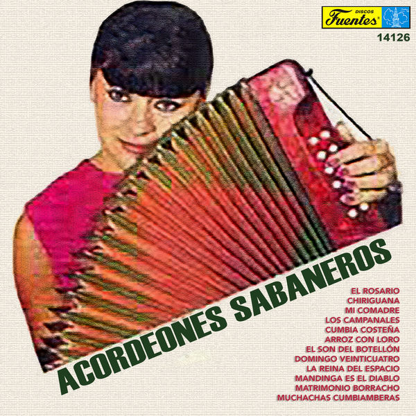 Various Artists - Acordeones Sabaneros