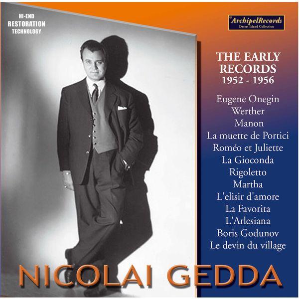 Nicolai Gedda - Nicolai Gedda The Early Records 1952-1956