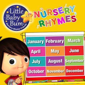 Months of the Year Song | Little Baby Bum Nursery Rhyme