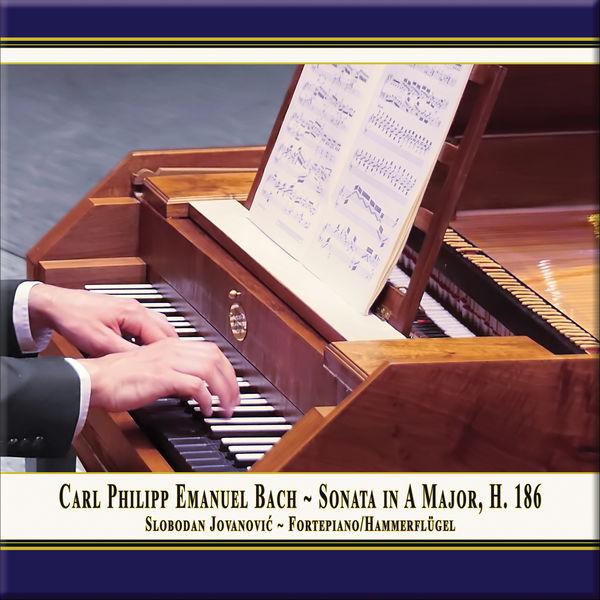Slobodan Jovanovic - C.P.E. Bach: Keyboard Sonata in A Major, Wq. 55 No. 4, H. 186