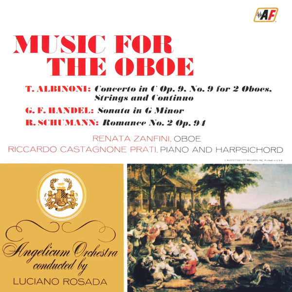Angelicum Orchestra - Music For The Oboe