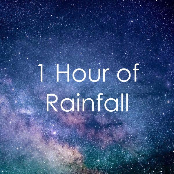 1 Hour of Rainfall   Sounds of Rain & Thunder Storms, Spa Music