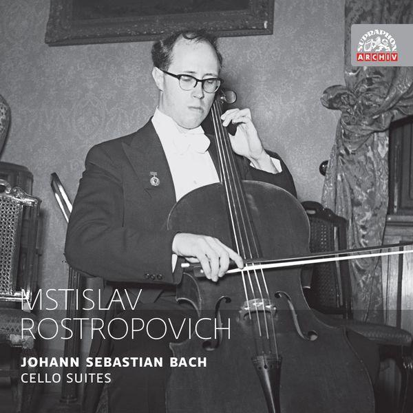 Mstislav Rostropovich - Bach: Cello Suites (Complete). Russian Masters