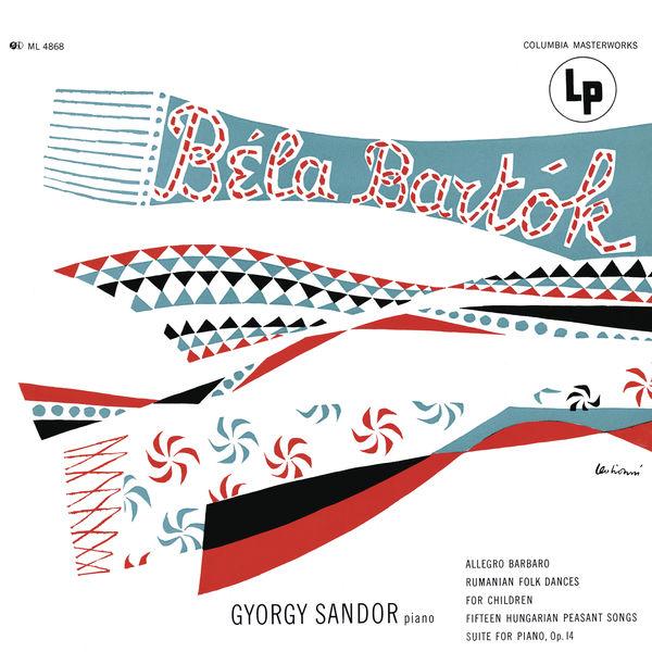 Gyorgy Sandor - Sándor plays Bartók (Remastered)