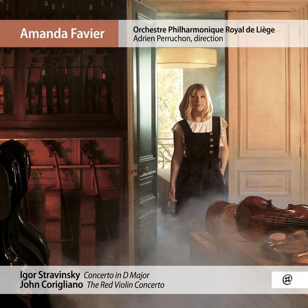 Amanda Favier - Stravinsky & Corigliano