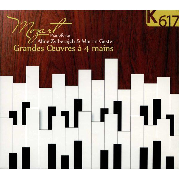 Martin Gester - Mozart: Grandes œuvres à 4 mains