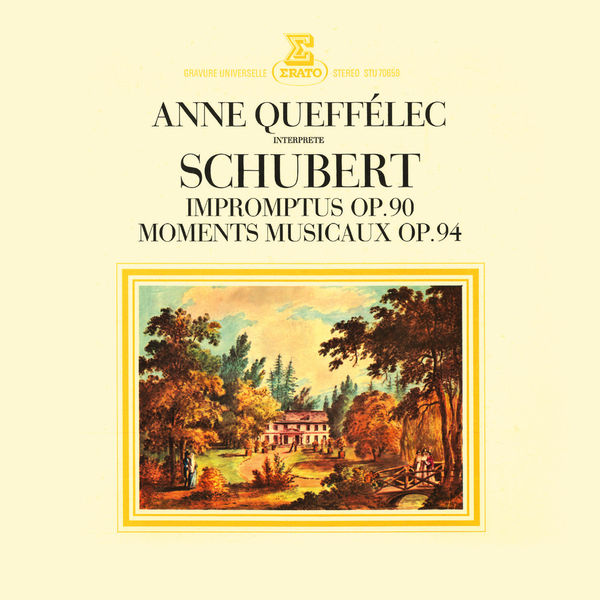 Anne Queffélec - Schubert: 4 Impromptus, D. 899, 6 Moments musicaux, D. 780