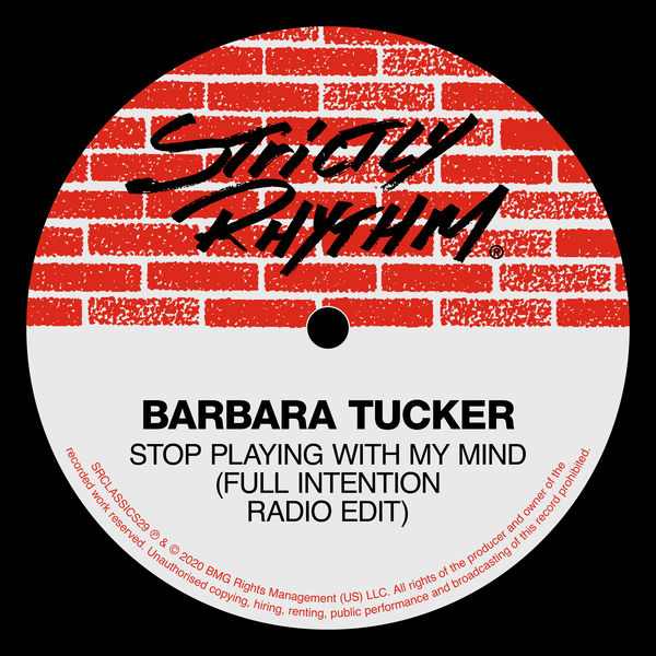 Barbara Tucker - Stop Playing With My Mind (Full Intention Radio Edit)