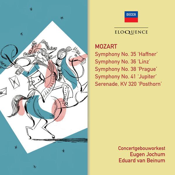Eugen Jochum - Mozart: Symphonies 35, 41, 36, 38 - Posthorn Serenade