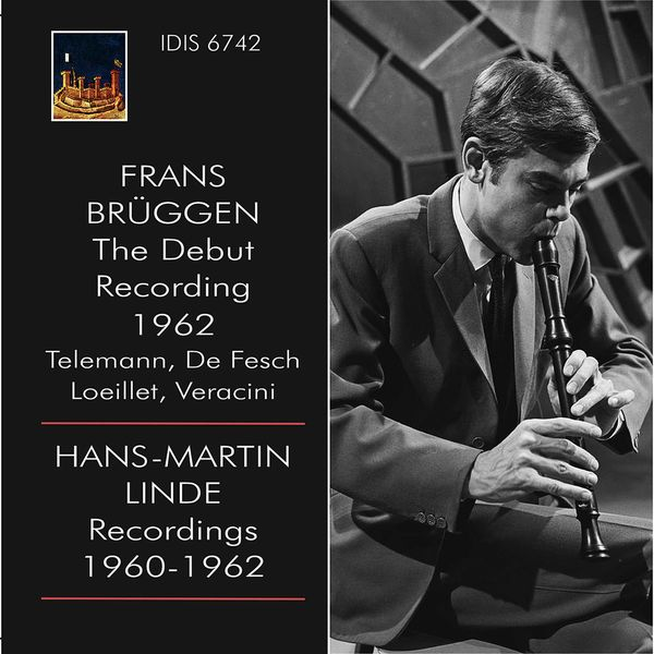 Frans Brüggen - Teleman, Loeillet & Others: Recorder Works