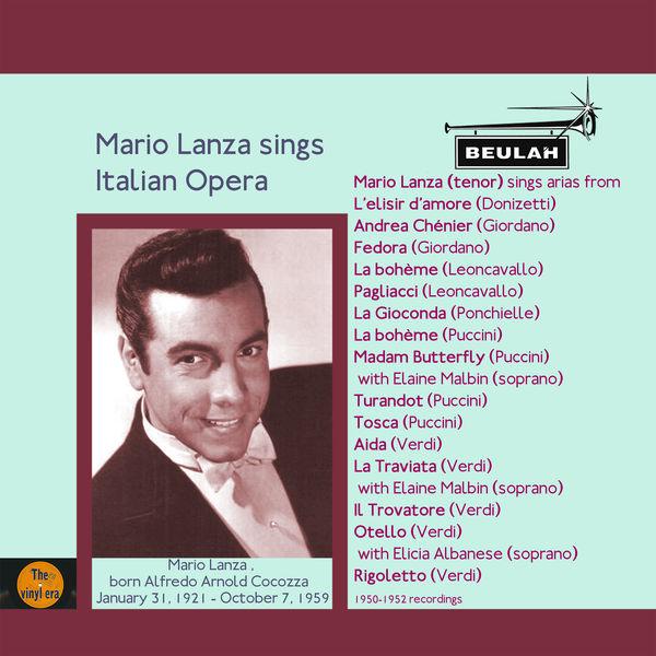 Mario Lanza - Mario Lanza Sings Italian Opera