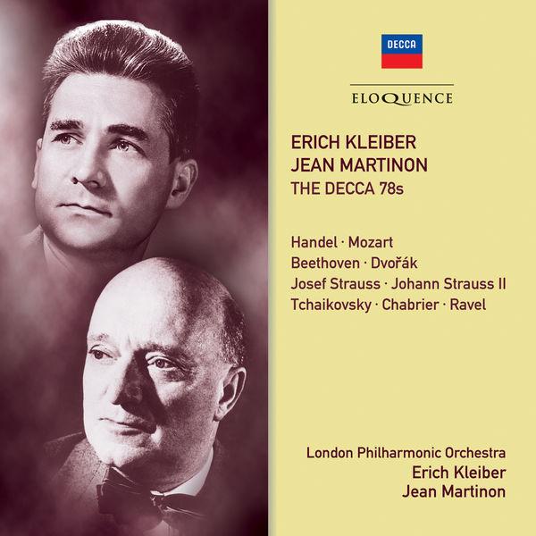 London Philharmonic Orchestra - Erich Kleiber, Jean Martinon - The Decca 78s
