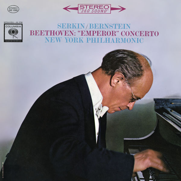 """Rudolf Serkin - Beethoven: Piano Concerto No. 5, Op. 73 """"Emperor"""""""
