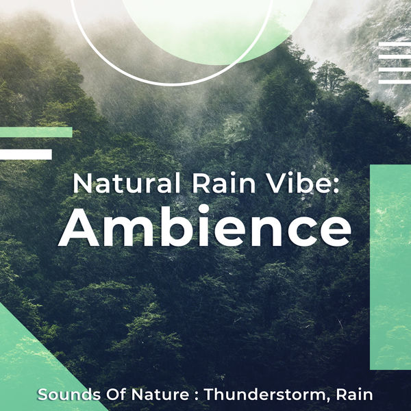 Album Natural Rain Vibe: Ambience, Sounds of Nature