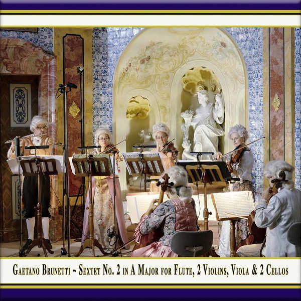 Quantz Collegium - Brunetti: Sextet in A Major, Op. 1 No. 2 (Version for Flute, 2 Violins, Viola & 2 Cellos) [Live]