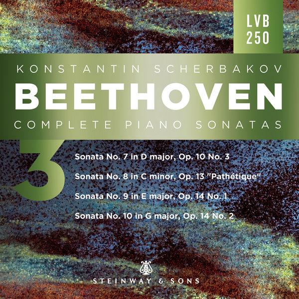 Konstantin Scherbakov - Beethoven: Piano Sonatas, Vol. 3