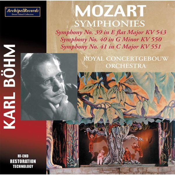 Karl Böhm - Mozart: Symphonies Nos. 39-41