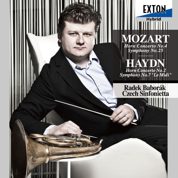 Joseph Haydn - Mozart: Horn Concerto No. 4, Symphony No. 25 - Haydn: Horn Concerto No. 2, Symphony No. 7 ''Le Midi''