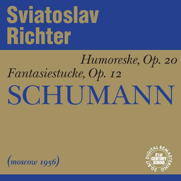 Sviatoslav Richter - Schumann: Humoreske, Fantasy Pieces