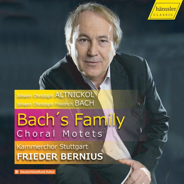 Frieder Bernius - Bach's Family: Choral Motets