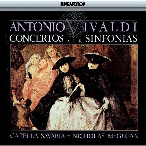 Nicholas McGegan - Vivaldi: Concertos and Sinfonias