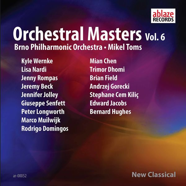 Brno Philharmonic Orchestra - Orchestral Masters, Vol. 6