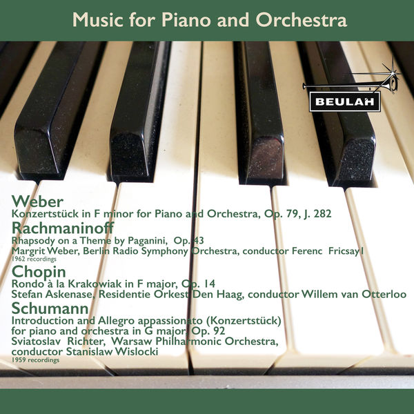Margrit Weber - Music for Piano and Orchestra