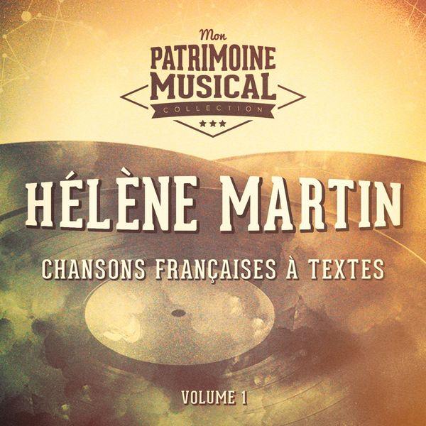 Helene Martin - Chansons françaises à textes : hélène martin, vol. 1