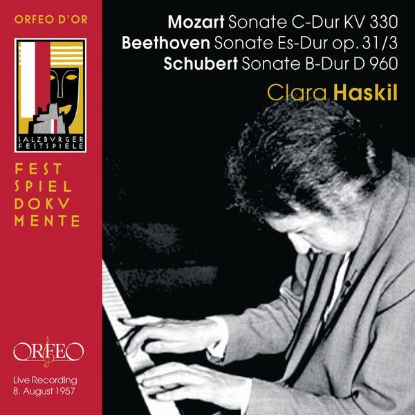 Clara Haskil - Mozart, Beethoven & Schubert: Piano Sonatas (Live)