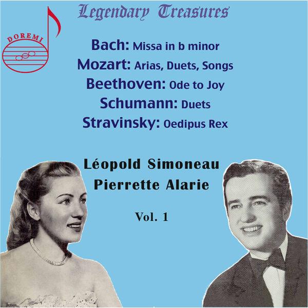 Pierrette Alarie - Léopold Simoneau & Pierrette Alarie, Vol. 1