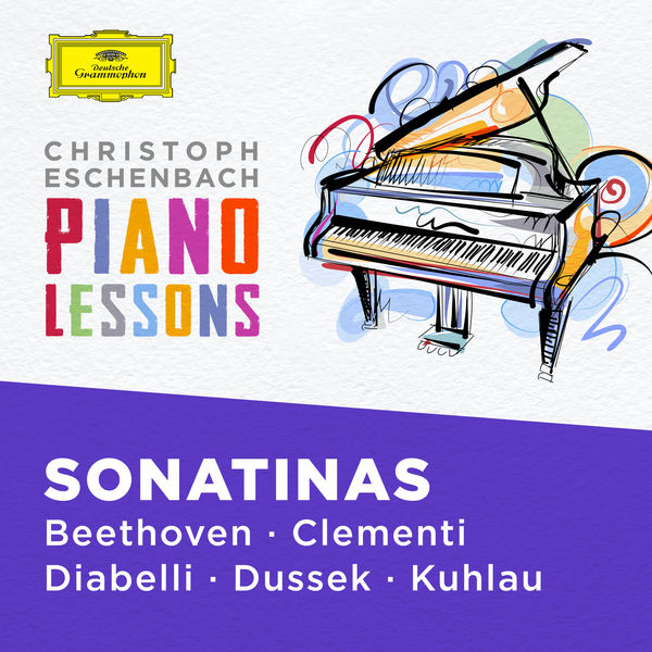 Christoph Eschenbach - Piano Lessons - Piano Sonatinas by Beethoven, Clementi, Diabelli, Dussek, Kuhlau