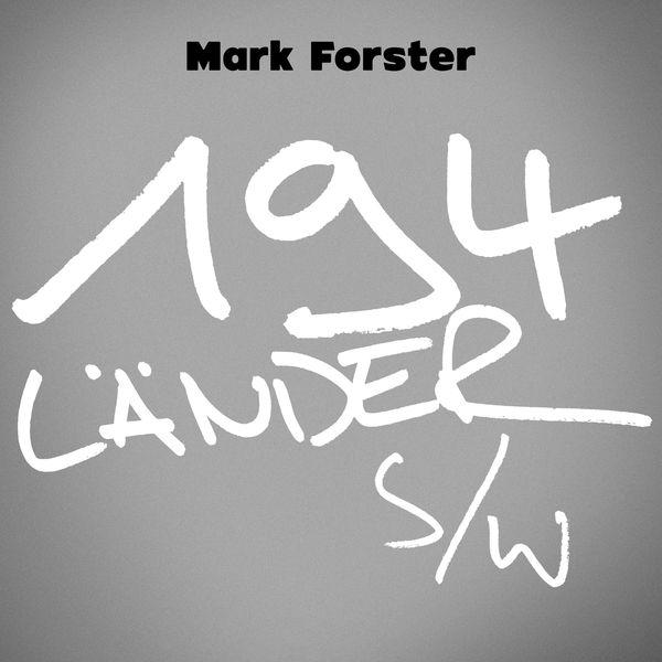 Mark Forster - 194 Länder s/w (Paris Piano Session)