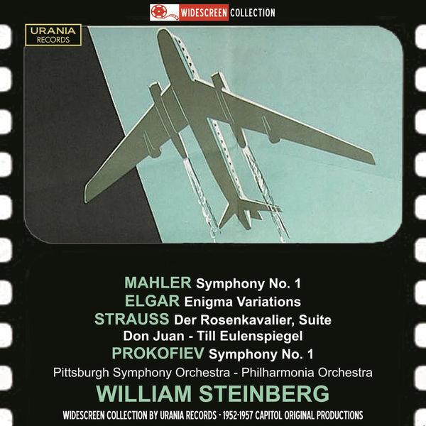 Philharmonia Orchestra - Mahler: Symphony No. 1 - Elgar: Enigma Variations  - Strauss: Der Rosenkavalier Suite (1953-1959)