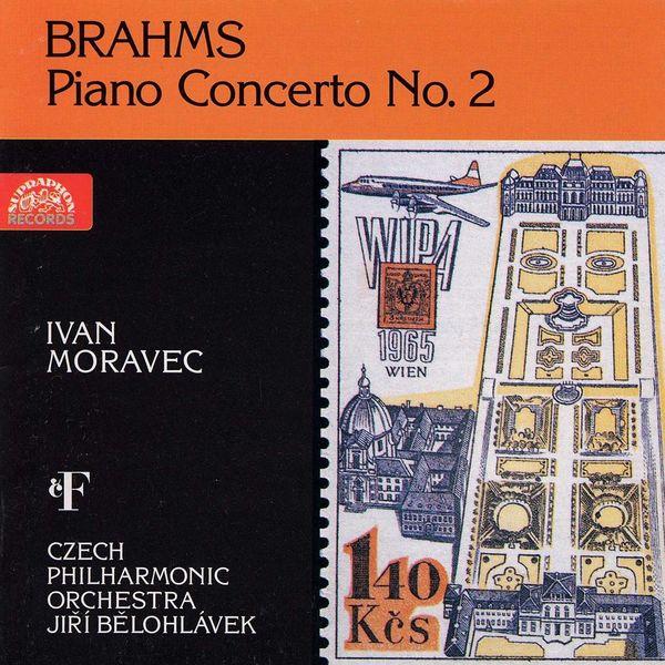 Ivan Moravec, František Host, Jiří Bělohlávek, Czech Philharmonic - Brahms: Piano Concerto No. 2
