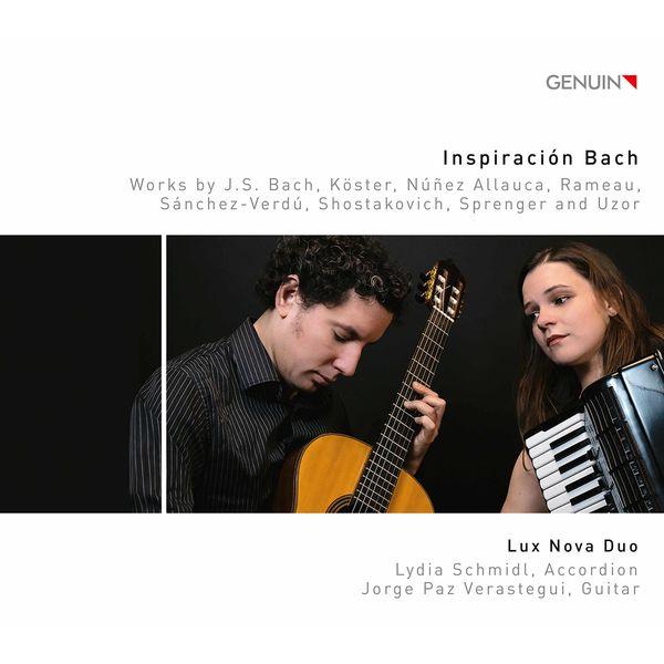 Lux Nova Duo - Inspiración Bach