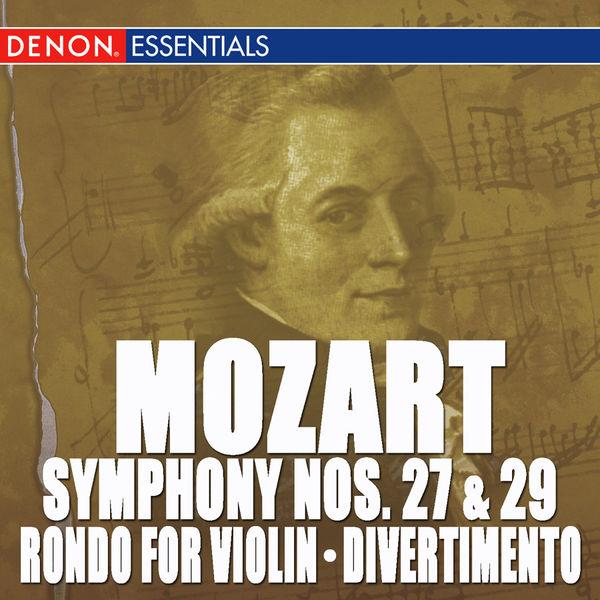 Concertgebouw Chamber Orchestra - Mozart: Symphony Nos. 27 & 29 - Rondo for Orchestra - Divertimento, KV 137