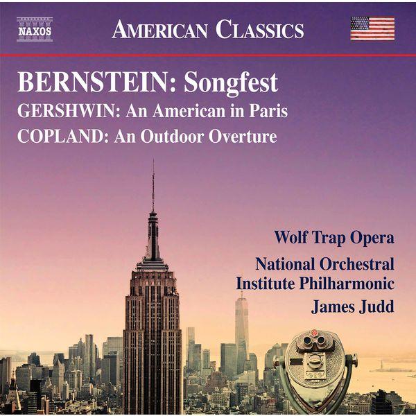 National Orchestral Institute Philharmonic - Bernstein, Gershwin & Copland: Works