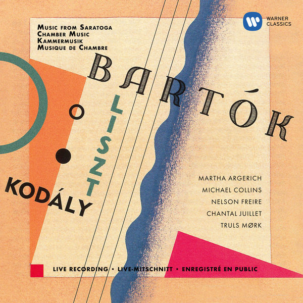 Martha Argerich - Kodály: Duo for Violin and Cello - Bartók: Contrasts - Liszt: Concerto pathétique (Live at Saratoga Performing Arts Center, 1998)