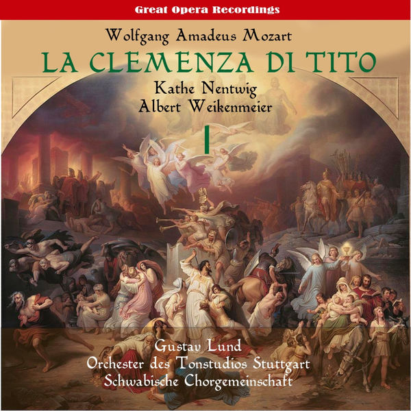 Orchester des Tonstudios Stuttgart - Mozart: La clemenza di Tito (The Clemency of Titus), Vol. 1