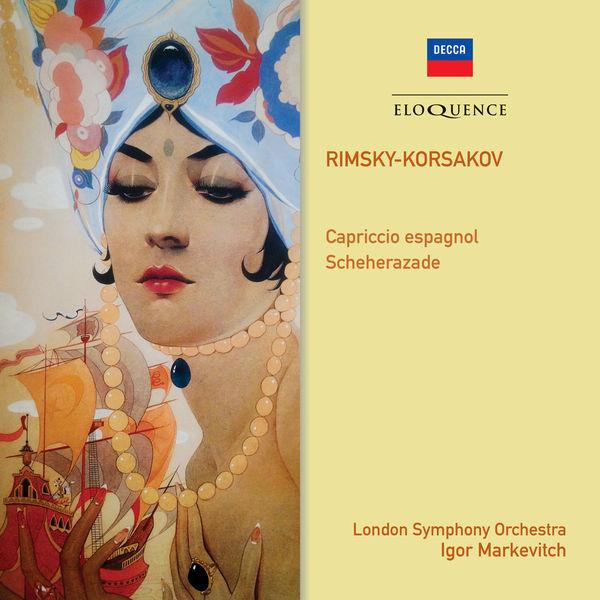 Igor Markevitch - Rimsky-Korsakov : Scheherazade - Capriccio espagnol
