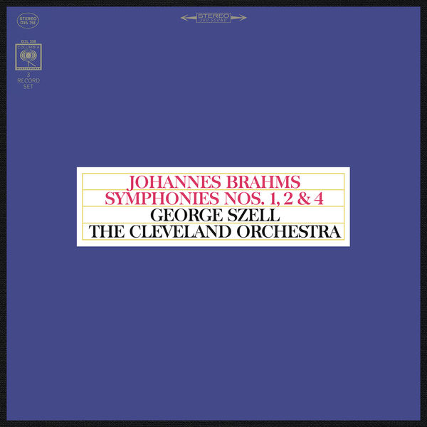 George Szell - Brahms : Symphonies Nos. 1, 2 & 4 (Remastered)
