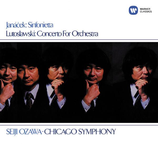Seiji Ozawa - Lutosławski: Concerto for Orchestra - Janáček: Sinfonietta