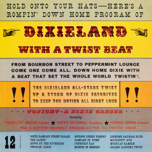 The Dixie Allstars - Dixieland with a Twist Beat (Remastered from the Original Somerset Tapes)