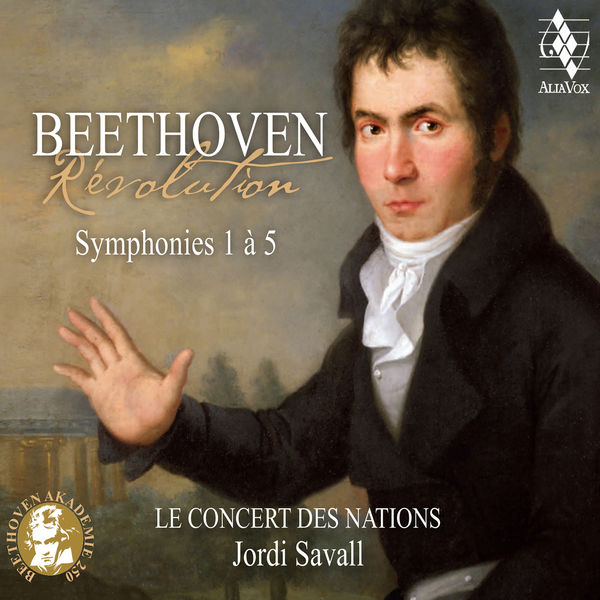 Jordi Savall - Beethoven: Révolution, Symphonies 1 à 5