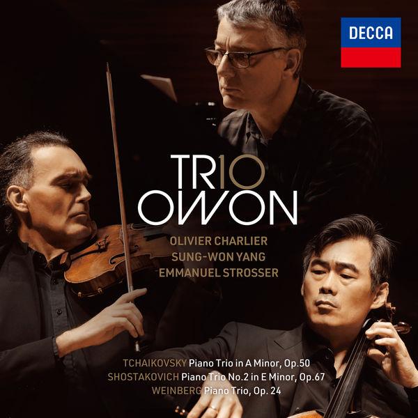 Trio Owon - Tchaikovsky, Shostakovich and Weinberg Piano Trios