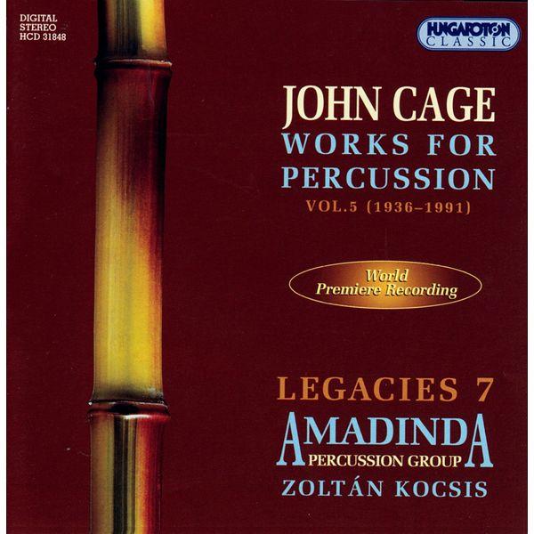 Laszlo Tomoskozi - Cage: Works for Percussion, Vol. 5 (1936-1991)
