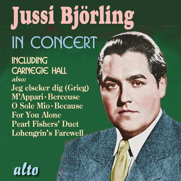 Jussi Björling - Jussi Björling in Concert