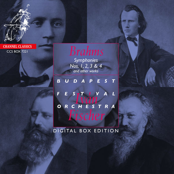 Iván Fischer|Brahms: Symphonies Nos. 1, 2, 3 & 4 & other works (Digital Box Edition)